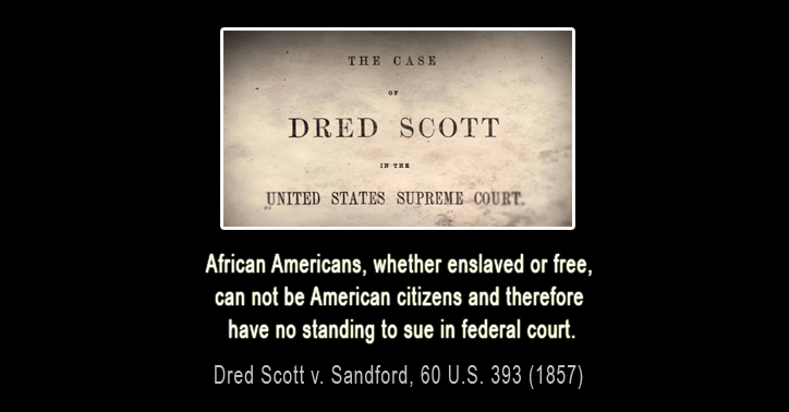 Dred Scott v. Sandford - Black History