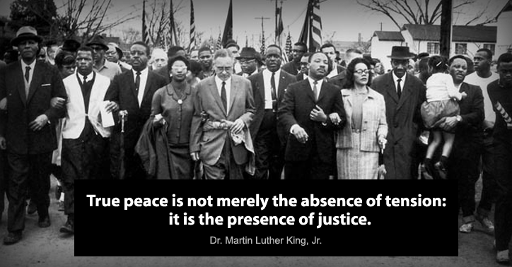 Martin Luther King's Birthday (Observed) - Monday, Jan. 19th, 2015